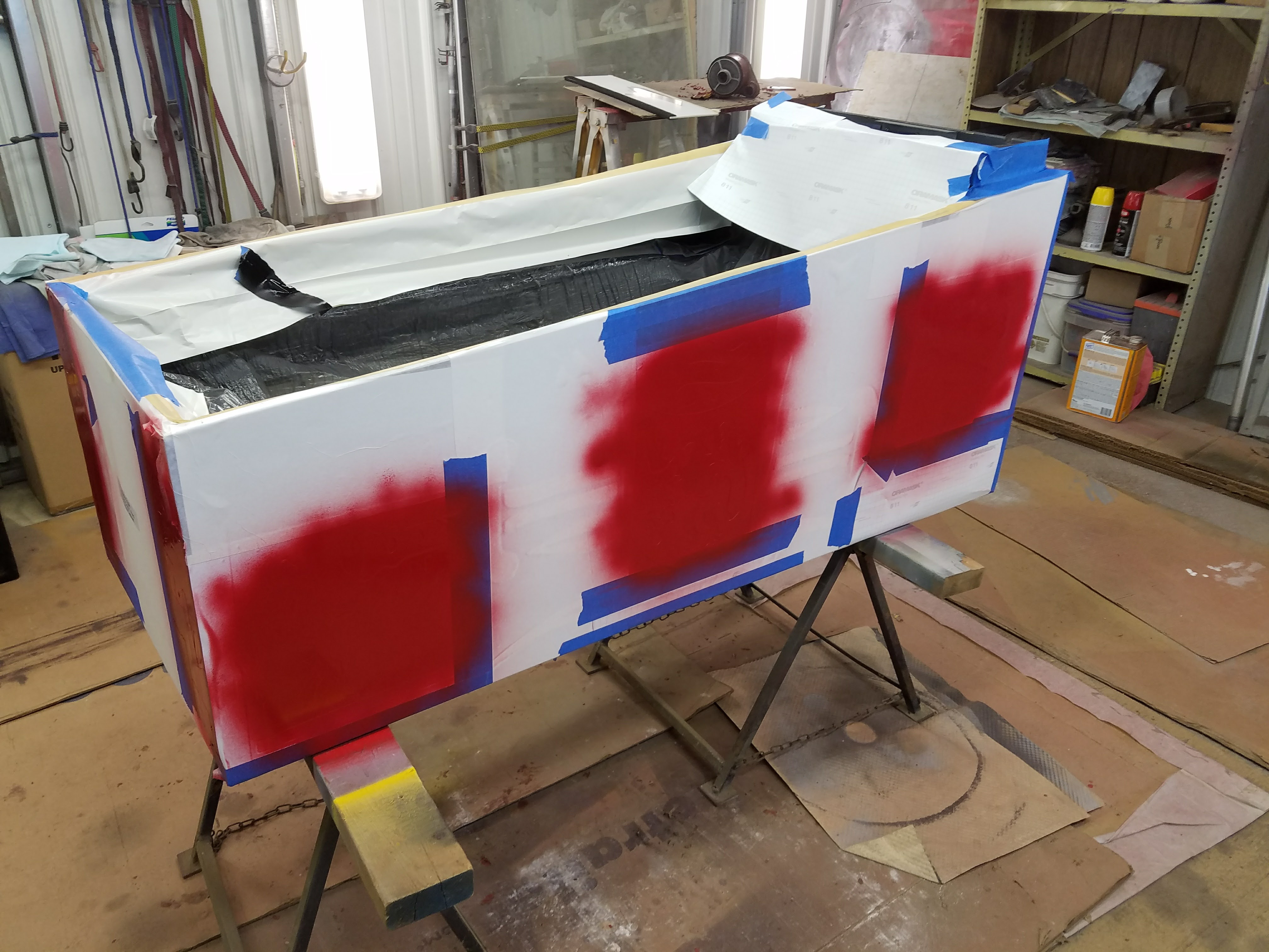 Redoing cabinet with stencil kit, what I learned  – 4130 Pinball