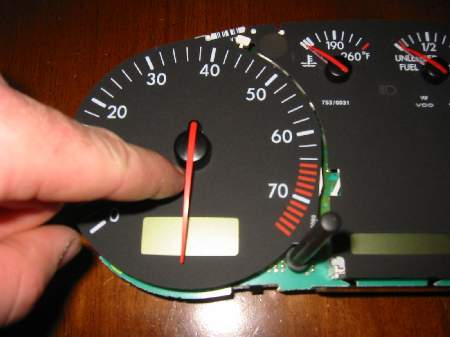 A4/B5 Instrument Cluster Stepper Motor Replacing